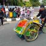 HIPSI Indramayu Memperingati Hari Jadi Indramayu Dengan Menggelar lomba Festival Beca Atraktif