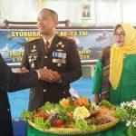 Potret Mesra Kapolres dan Dandim Indramayu Dalam Peringatan HUT TNI ke-73