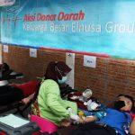 Pekerja Elnusa Sambut Kemerdekaan Dengan Aksi Donor Darah
