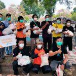 Rumah Zakat Bagikan Sembako Kepada Relawan Pemulasaraan Jenazah