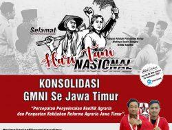 DPD GMNI Jawa Timur Minta Pemerintah Segera Menyelesaikan Konflik Agraria