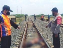 Tragis Pemuda Ganteng Diduga Bunuh Diri di Rell Kereta Api Desa Sukamelang